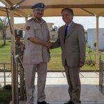 Image for the Tweet beginning: 🔴 Le maréchal Khalifa #Haftar