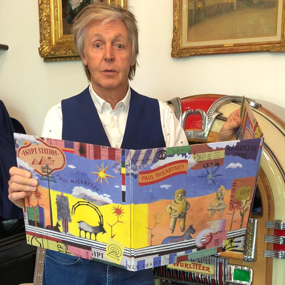 Image result for Paul McCartney egypt station