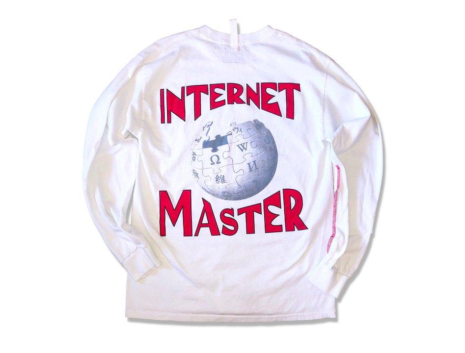 「WikipediaロンT」を着て、インターネット・マスターを目指さないか #Web #ブラウザ #ファッション #デザイン https://t.co/JNtzt4OFES