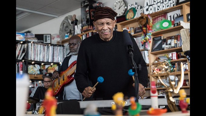 Happy Birthday, Roy Ayers!  Here is his Tiny Desk concert from