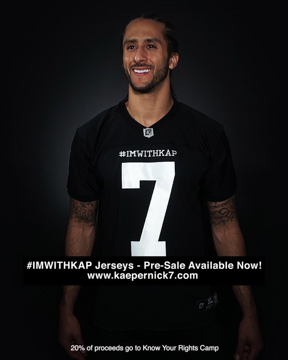 purchase cheap 08f39 a53b4 Colin Kaepernick on Twitter:
