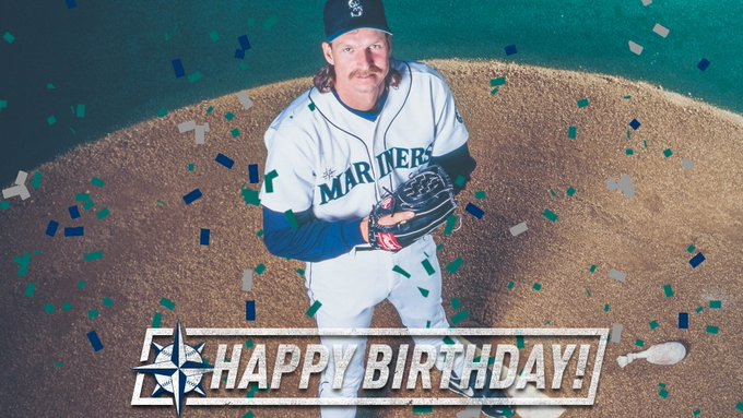 As intimidating as they come.  Happy Birthday to the one and only Randy Johnson!