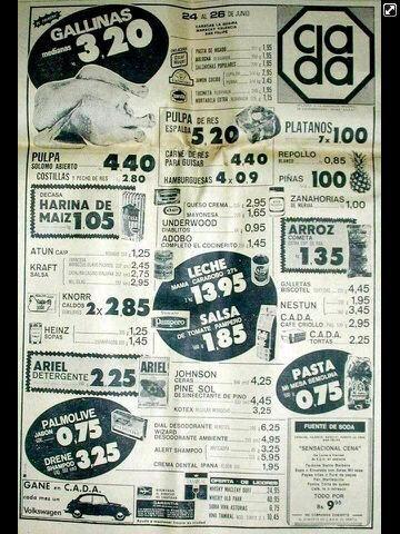 via @gerlygerman: Ni quitándole ocho (8) ceros a la moneda volveremos a estos precios. Ceros no tapan devaluación https://t.co/EU4nAWDJZv