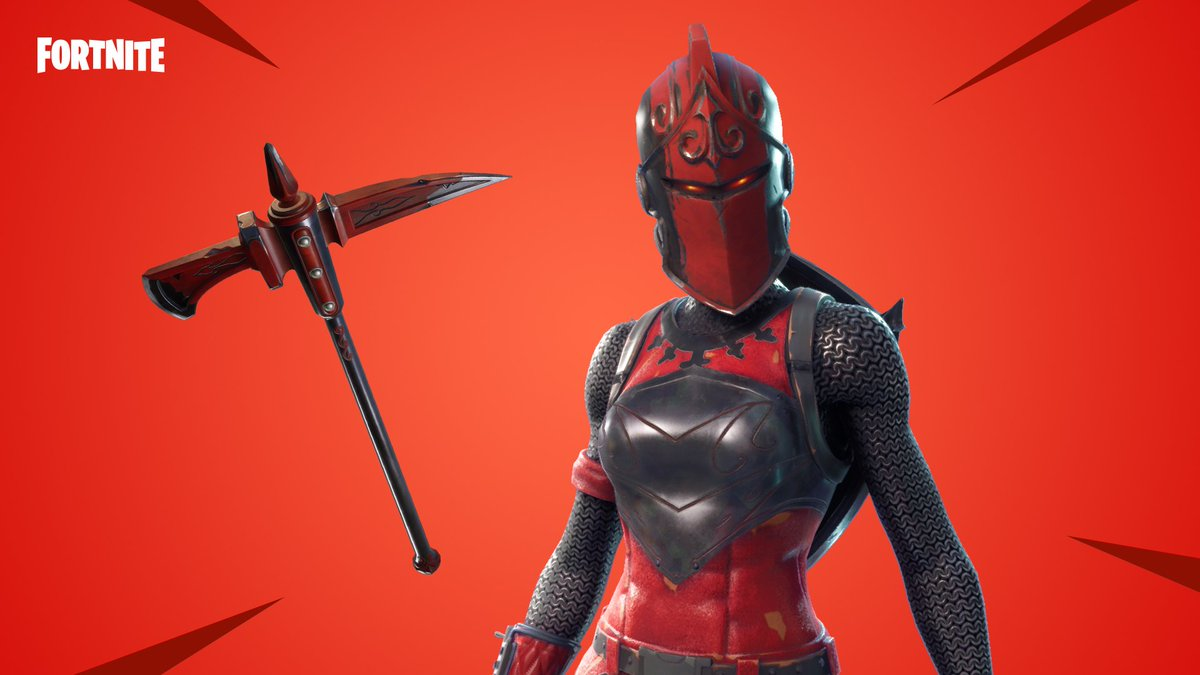 Fortnite On Twitter Old Armor New Tech The Red Knight Outfit And