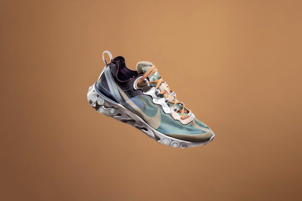efa6ed372b99 Release info for the Nike React Element 87   Undercover (Green Mist) will  be announced soon - Stay tuned for details  cncpts  Nike ...