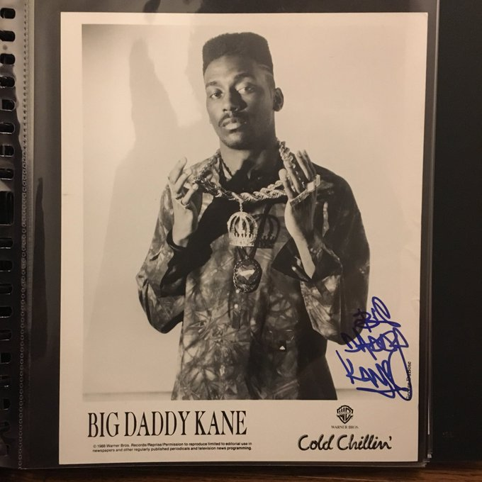 Happy bday to the King Big Daddy Kane! Thanks for the pic