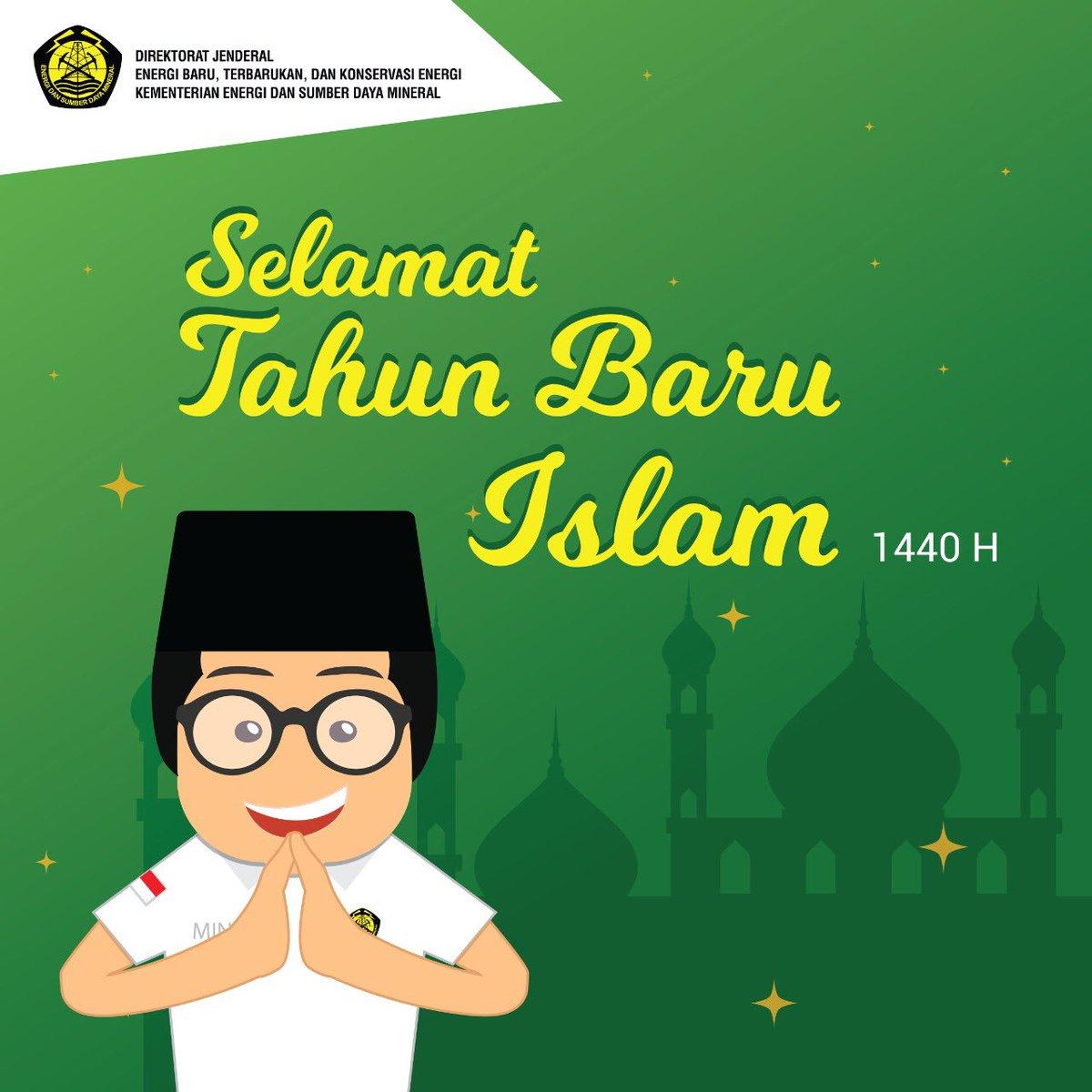 Ditjen Ebtke A Twitter Selamat Tahun Baru Islam 1440 Hijriah Sobat Energi Muharram