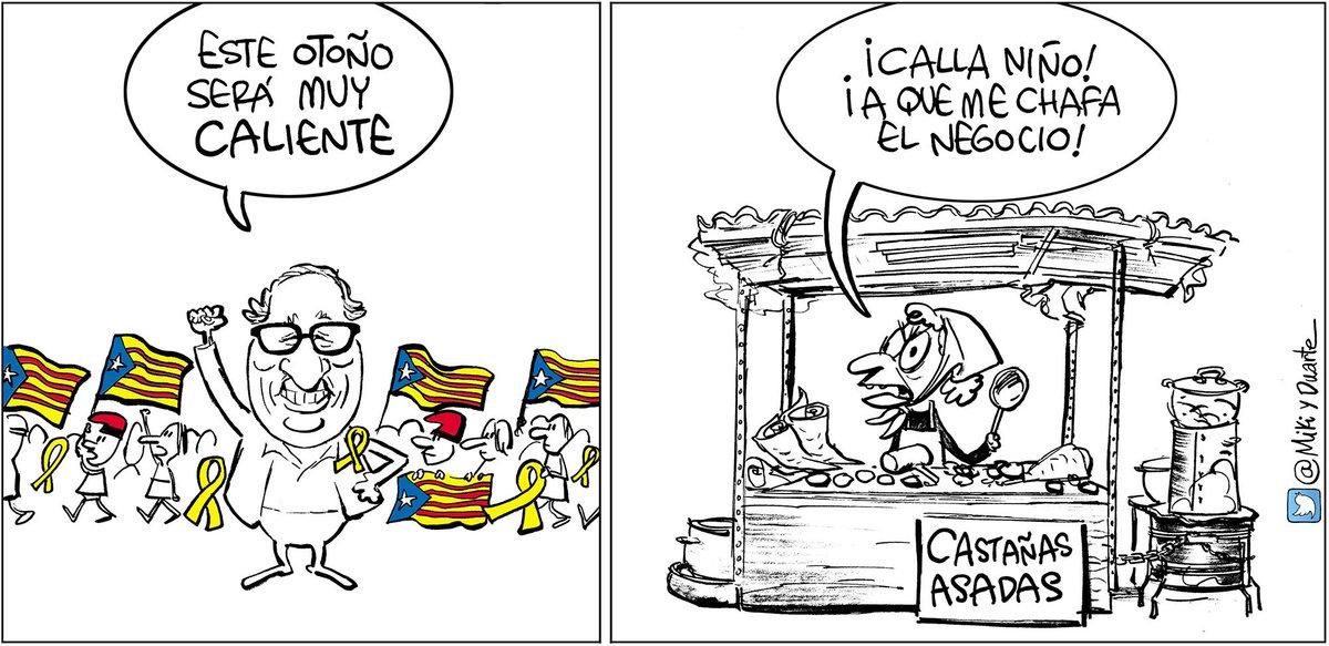 #Diada2018 #Diada #Otoñocaliente Hoy, en los diarios del @grupojoly