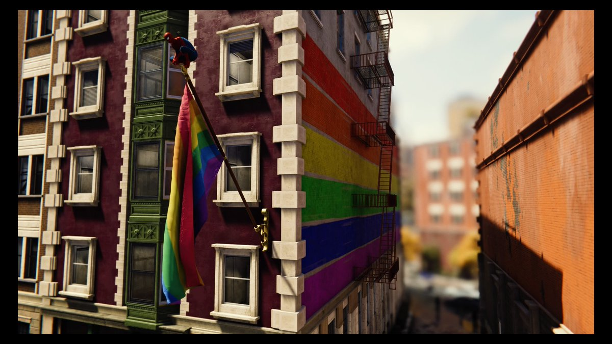 LGBTQ gamers are rejoicing about the pride flags in 'Marvel's Spider-Man'