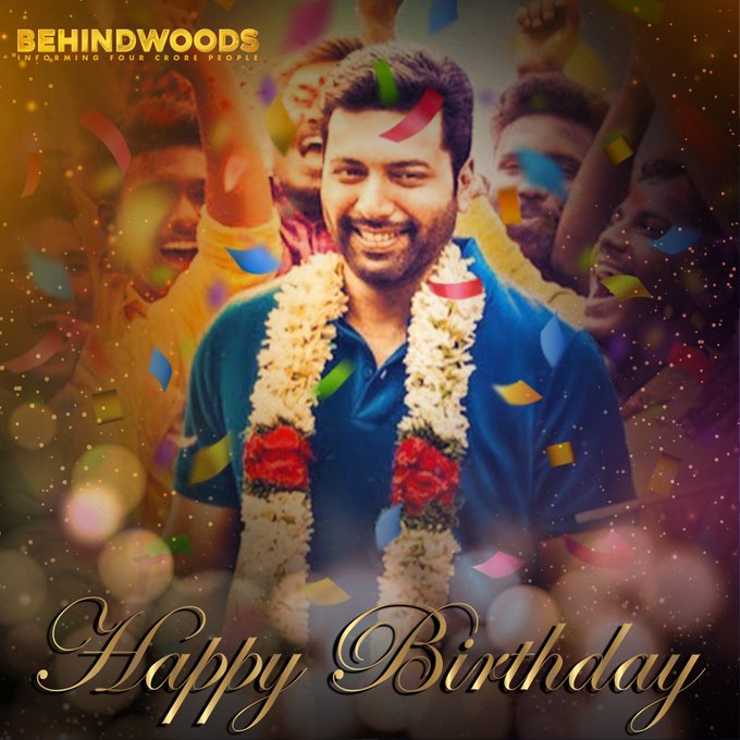 U Happy BirthdaY Jayam Ravi Anna