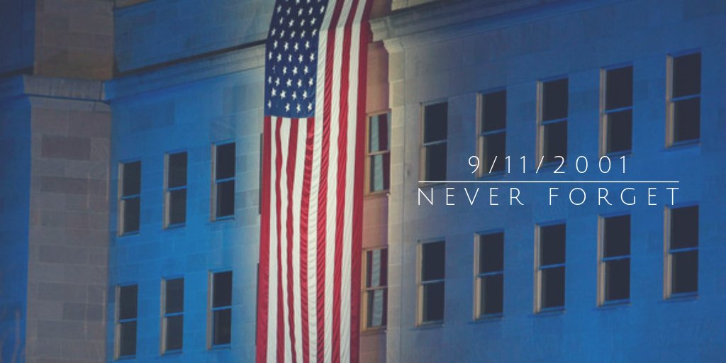 We will never forget. #Honor911 #NeverForget