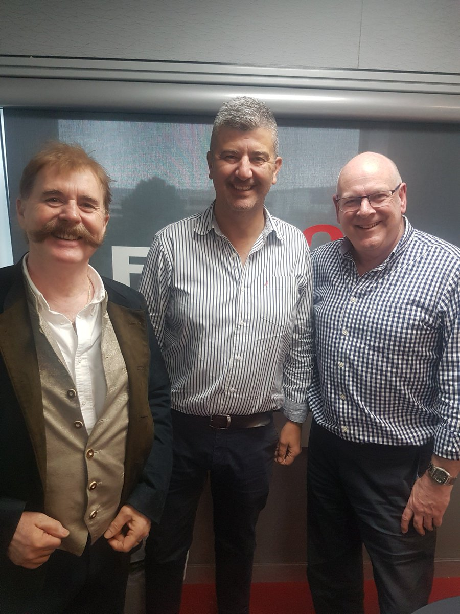 NOW: Peter Williams and special guest Euan Landsborough @AlbatrossTrav with @AlanHickey5aa in the studio for Travel Talk thanks to @PhilHoffmannTvl taking your calls 82230000