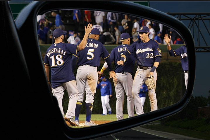 Caution: Objects in mirror are closer than they appear.  And we're not pumping the brakes. #ThisIsMyCrew https://t.co/PZD0Reeg54