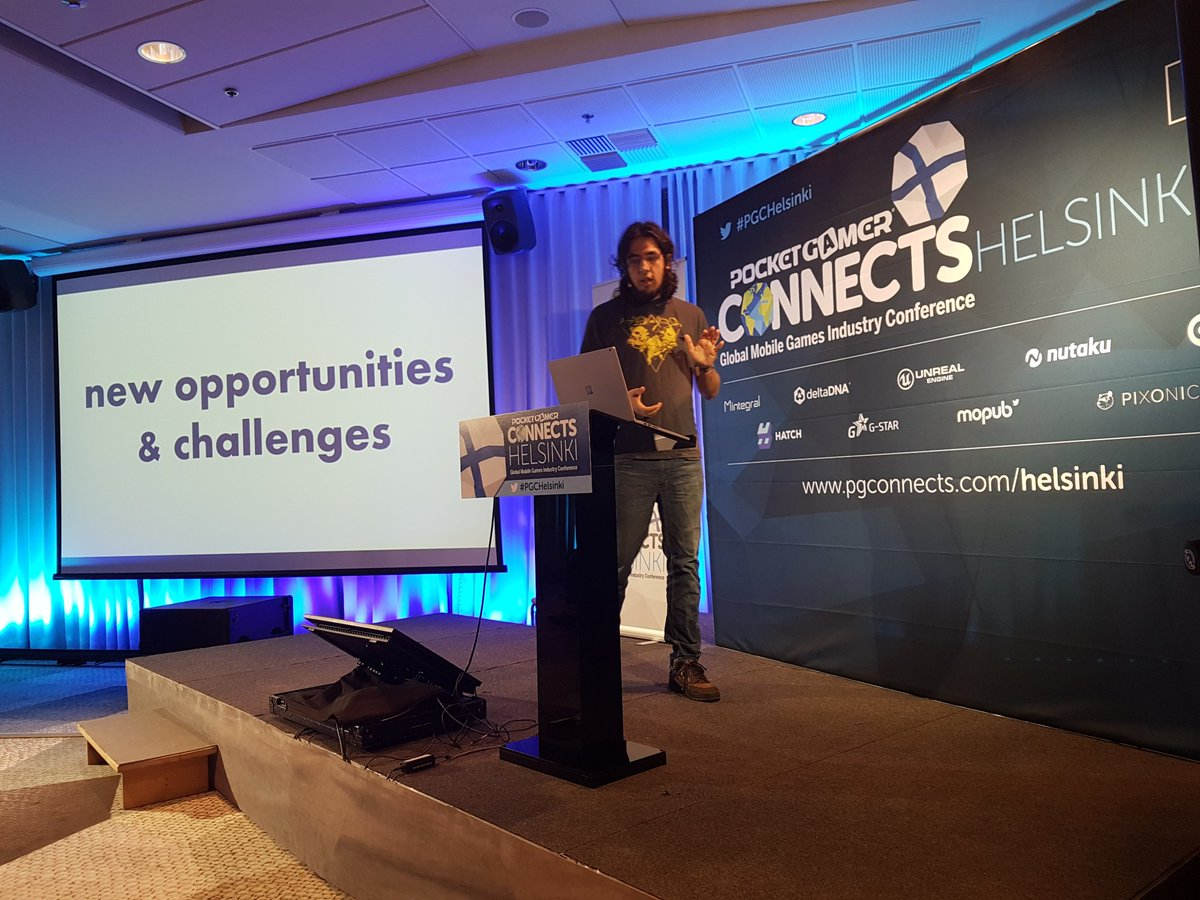 @tha_rami of @Vlambeer talks about fragmentation, consolidation and the future of stores @PGConnects @pgb #PGCHelsinki