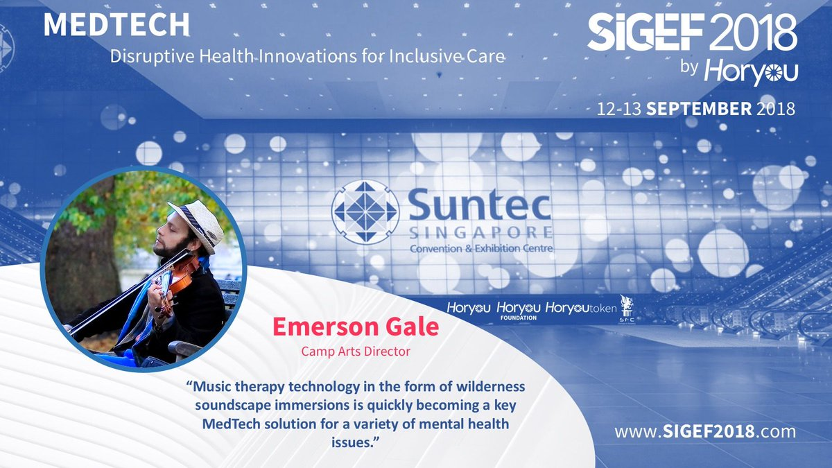 The 5th edition of the Social Innovation and Global Ethics Forum #SIGEF2018 presents its #Medtech Speaker @EmersonGale. Learn more about our Speakers: http://bit.ly/2HzJK2q   #ehealth #healthtech #healthcare #SuntecSG #Singaporepic.twitter.com/23RMUvcnUq