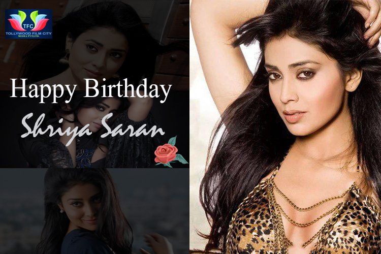 Join Us In Wishing This Gorgeous Lady Shriya Saran A Very Happy Birthday !