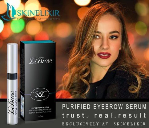 2850892de32 ... sparse eyebrows to their original splendor will obsess over LiBrow's  magical ability to transform. #LiBrow #brows #eye #purified #hair #natural # growth ...
