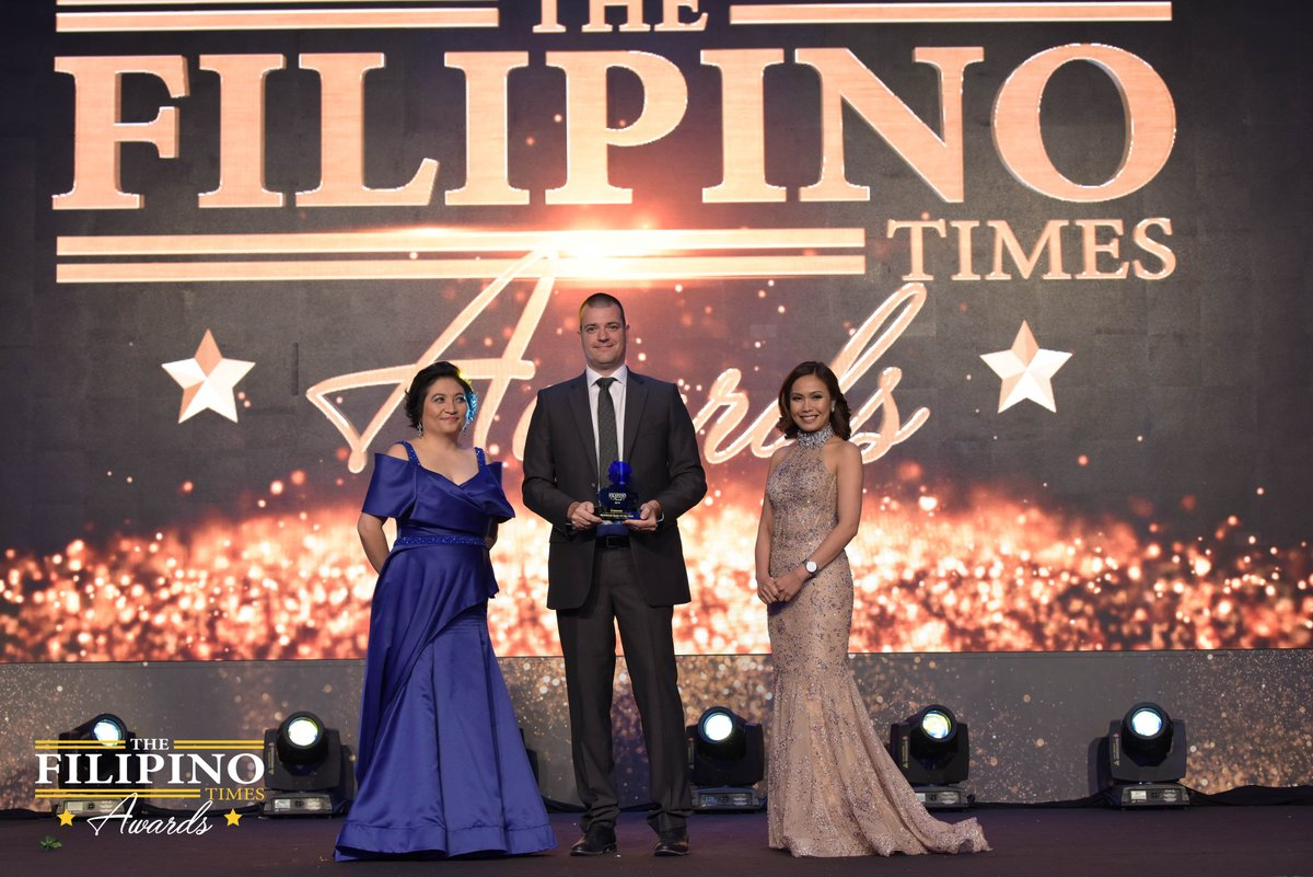 We've won the 'Preferred Bank of the Year' award at The Filipino Times Awards 2018. We are honoured to be recognised for our excellence in service offered to the Filipino Community. #SimplyBetter #TFTAwards2018 #LovedByTheFilipinos