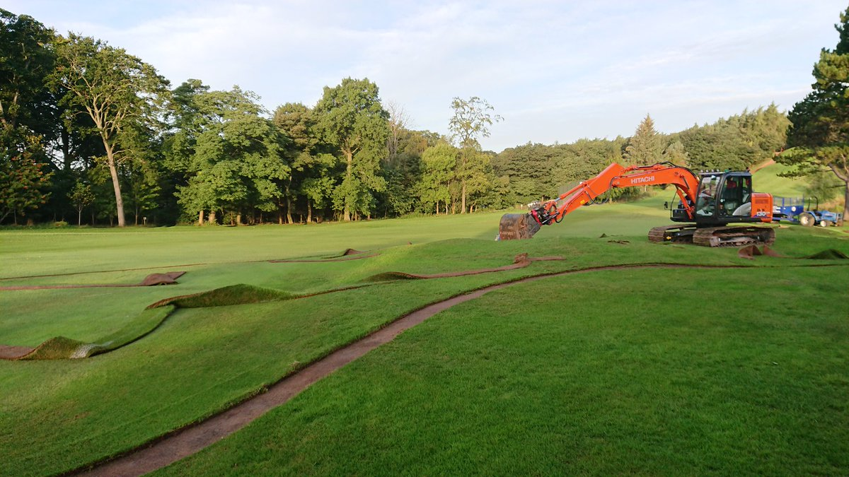 test Twitter Media - Exciting times lie ahead for Mortonhall GC as work has began on our bunker project. Temporary tee in place on 2nd hole. https://t.co/VuTaHlv1ys