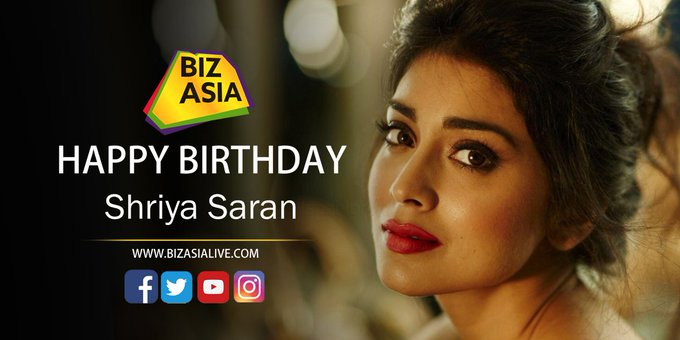 wishes Shriya Saran a very happy birthday.