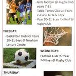 Image for the Tweet beginning: ELSS PE Afterschool club time