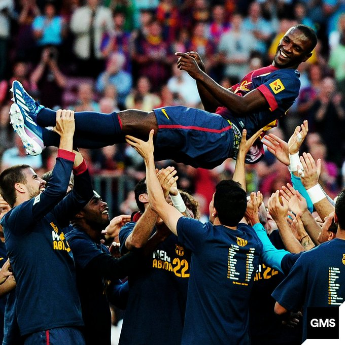 Happy 39th birthday to FC Barcelona legend, Eric Abidal!