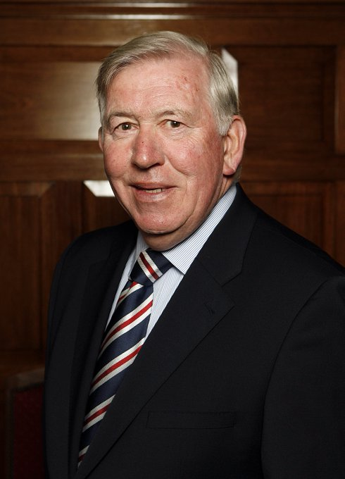 Happy Birthday to our Honorary President and the Greatest Ranger, John Greig MBE!