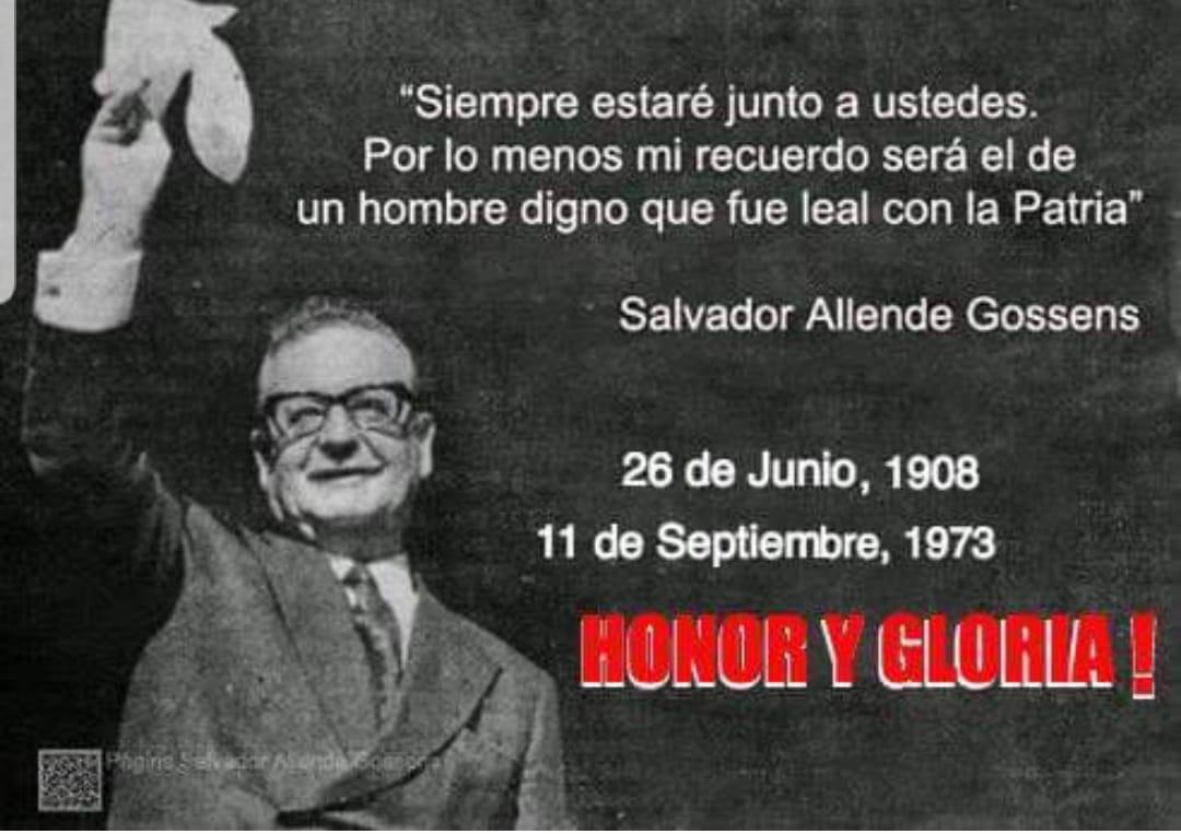 Resultado de imagen para Honor y gloria al pueblo chileno