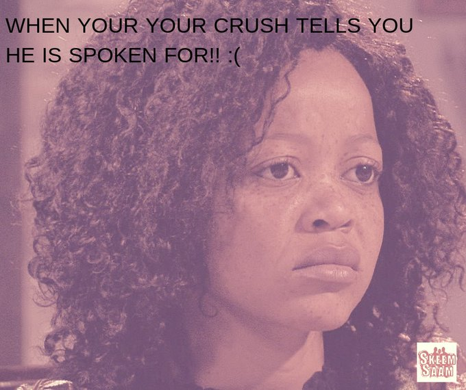 Rachel was hit with an emotional bomb last night! To her surprise, Marothi is spoken for unfortunately! 💔💣 #SkeemSaam Photo