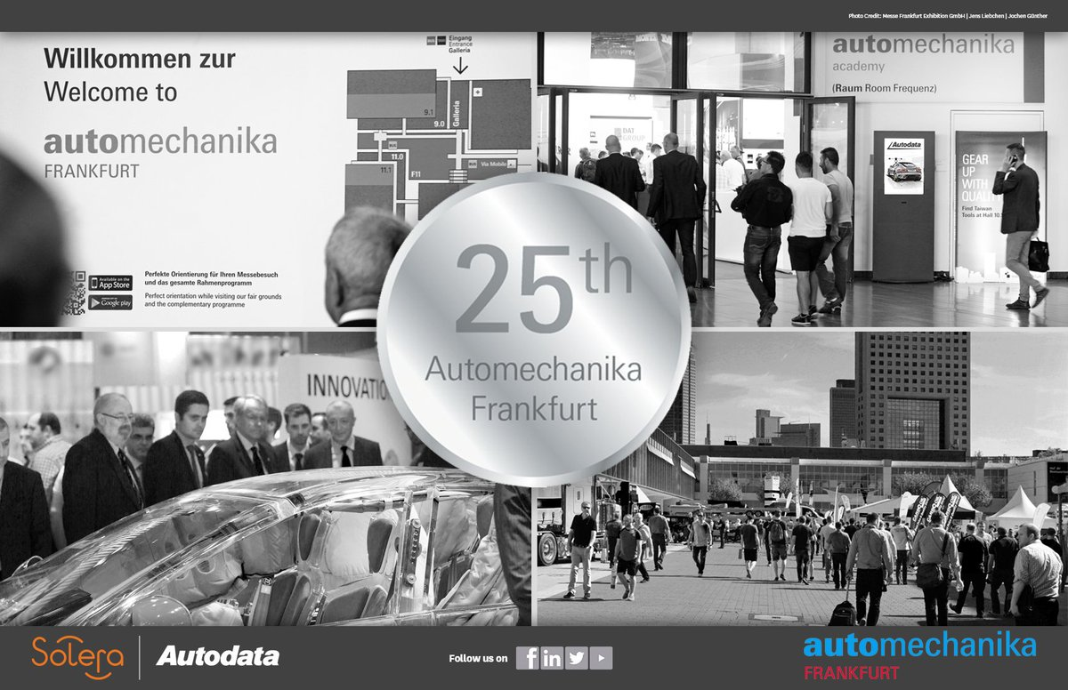 Automechanika Frankfurt 2018 starts today. Visit us at Hall 8  Stand M95 to see the latest on our API development https://t.co/XWLb6ufXGX
