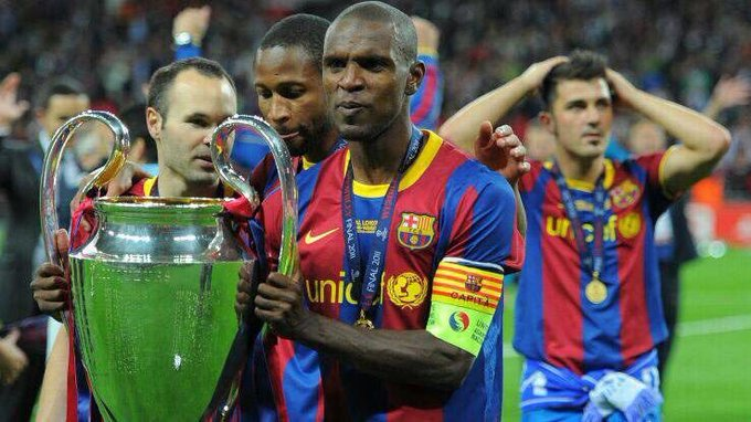 Happy 39th BIrthday to Eric Abidal. What a signing he has been for us.