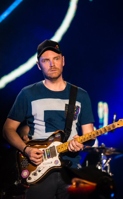 Happy Birthday to the most important member of Coldplay!!!!!! Jonny Buckland