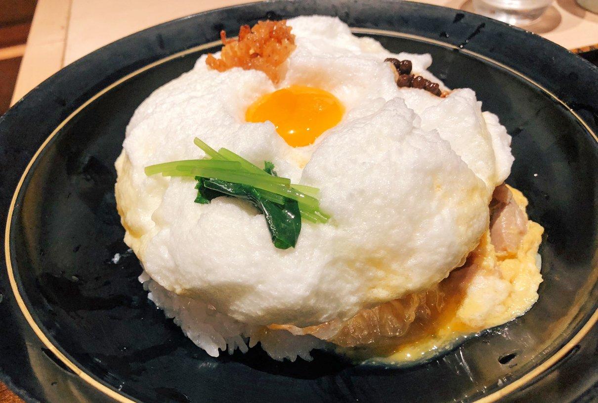 究極の親子丼!大阪は梅田にある「雪の桜島」という親子丼こんなの見たことない!