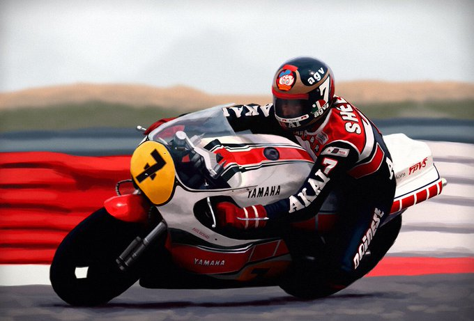 Happy birthday to the late and great Barry Sheene, two time MotoGP world champion! Legend