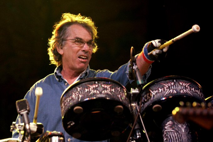 Touch Of Grey  Happy Birthday Today 9/11 to long-time Grateful Dead drummer Mickey Hart. Rock ON!