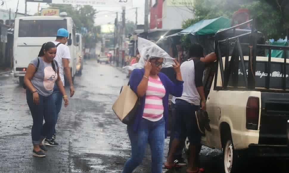 Pronostican lluvias de moderadas a fuertes en todo Nicaragua. Más información: https://t.co/6fWVnClkLY