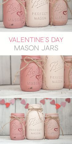 #Day #Decor #For #Jars #Latex #Mason #Painted #Valentines #Vintage Please RT: https://t.co/gUaqD91yj3 https://t.co/7Vs9IBSu2u