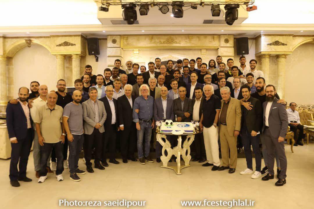 ۷۴ سالگی باشگاهی که برای ما بیش از یک تیم فوتبال و حاصل تلاش پیشکسوتان و هواداران بوده و هست و خواهد بود، مبارک  ۷۴ سالگی باشگاه استقلال مبارک 💙💙💙💙 #باهم