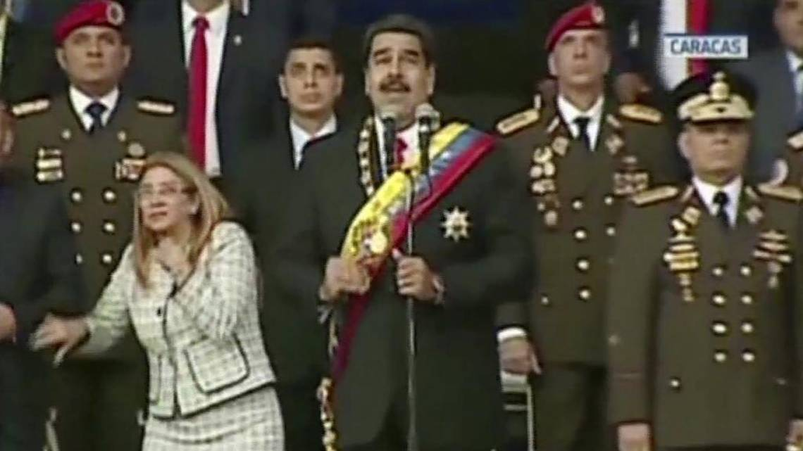 Trump parecen alentar golpe militar en Venezuela https://t.co/UZRNV1bYds