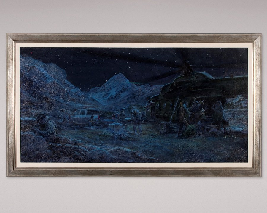 CIA #Museum Artifact of the Week: Cast of a Few, Courage of a Nation by James Dietz Oil on Canvas, 2008  https://t.co/s3EqDIE3j3  #JAWBREAKER