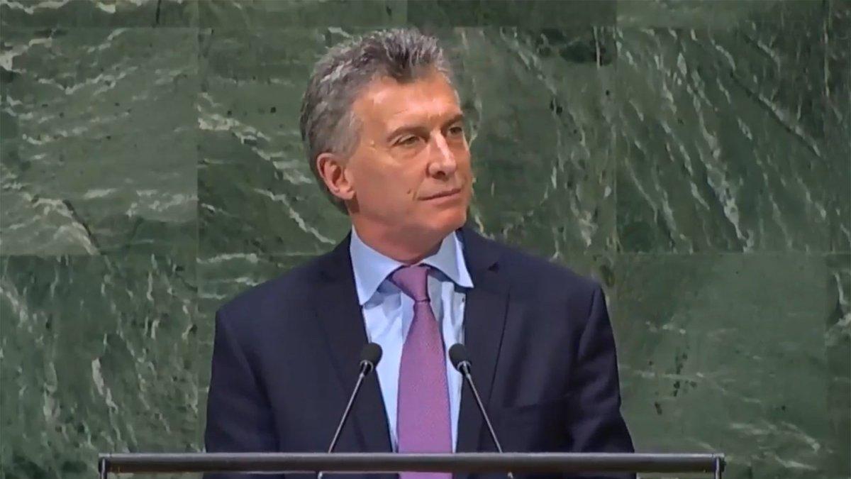 Macri confirmó que Argentina denunciará ante la Corte Penal Internacional los crímenes de la dictadura venezolana https://t.co/i44cohi7rP