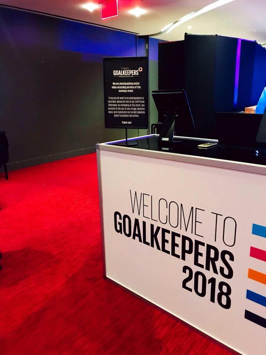 Currently in New York for the #UNGA as the official photographer for the Bill and Melinda Gates Foundation. What an incredible honor. Truly blessed. #GoalKeepers18