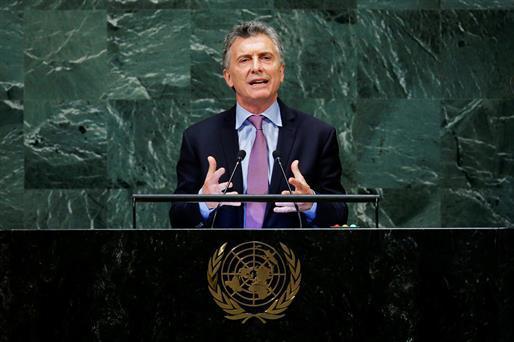 .@mauriciomacri: 'La Argentina llevará a la Corte Penal Internacional la situación relativa a los crímenes de lesa humanidad de la dictadura venezolana' https://t.co/sGG2lkfU48