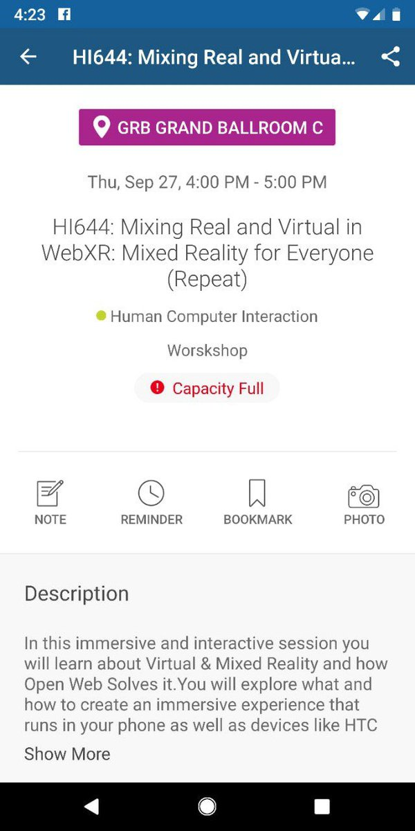 WebXR on JumPic com