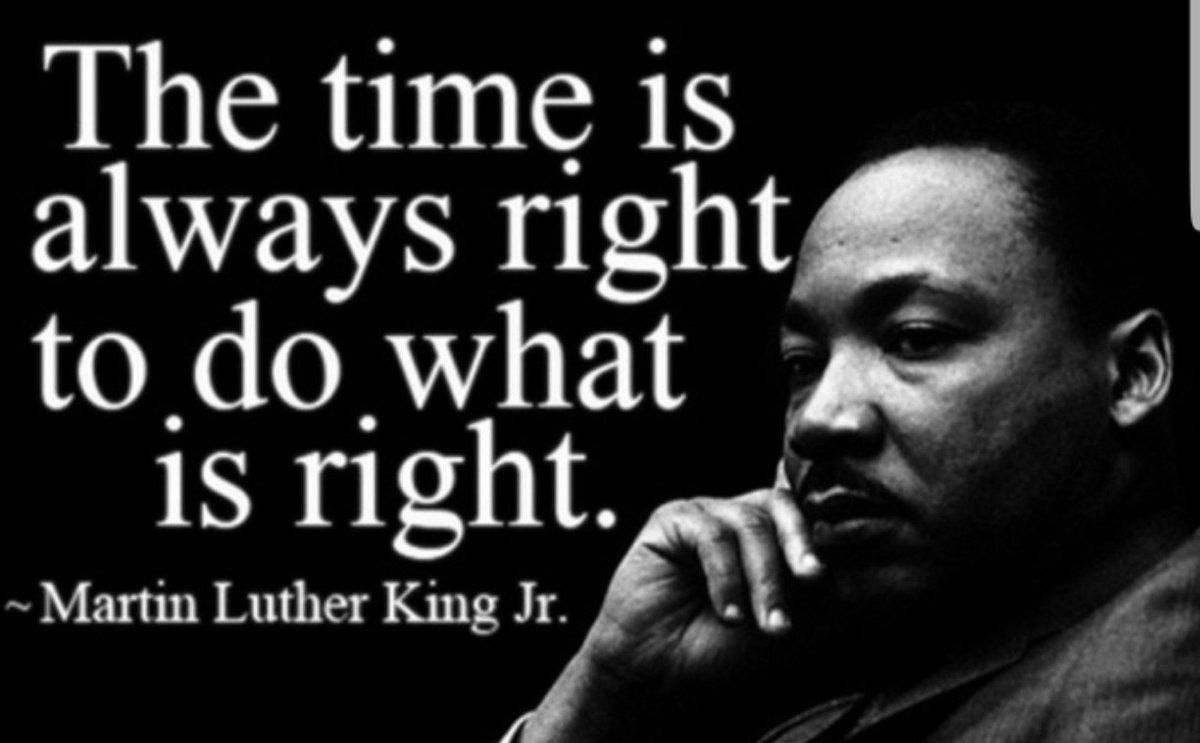 Irt On Twitter A Great Quote From Martin Luther King Jr Always Do