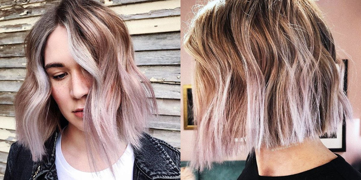 'Vanilla Lilac' Hair Is Fall's Newest Shade You'll Actually Love https://t.co/IK0ZTObjfH