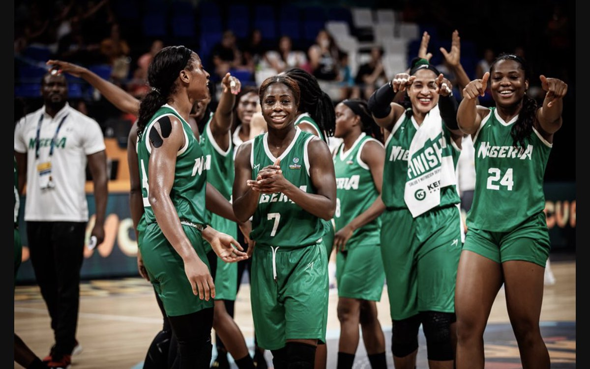 """President @MBuhari: """"Congratulations to our women basketball team, @DtigressNG, who today won their second game in the ongoing @FIBA Women's World Cup. We are proud of you, and of what you have accomplished so far."""" #FIBAWWC2018 🇳🇬 📷: @FIBA"""