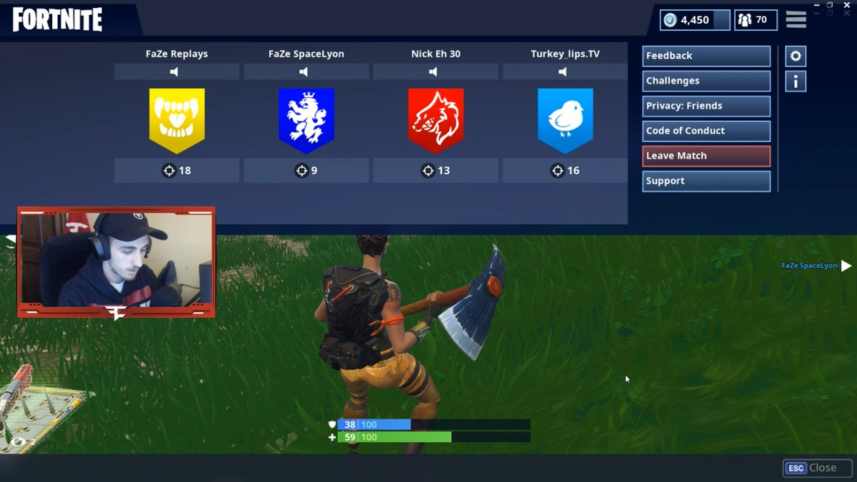 Nick Eh 30 On Twitter 56 Kills In Squads With Spacelyon Replays