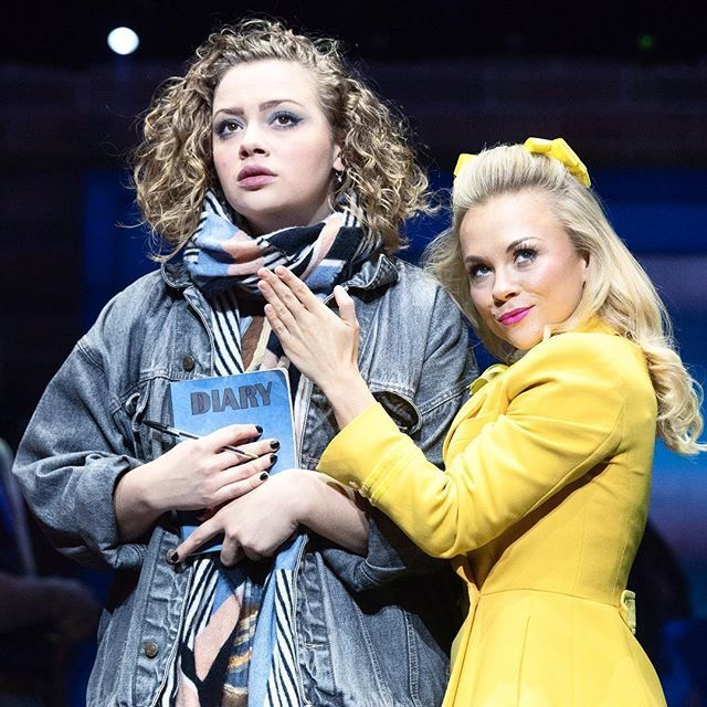 I'd argue that Mac and Sawyer are the real love story of Heathers...💙💛💙 https://t.co/YNyeDD6iaa