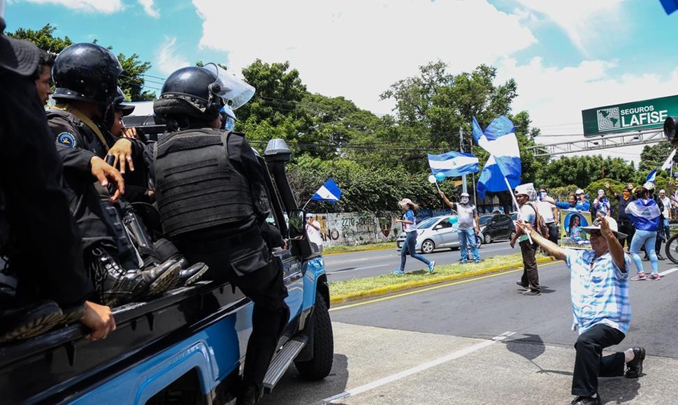 Próximo comandante de EE.UU. en Latinoamérica dice que la crisis en Nicaragua supondrá un reto en su mandato Más información: https://t.co/uV5O0cDltz